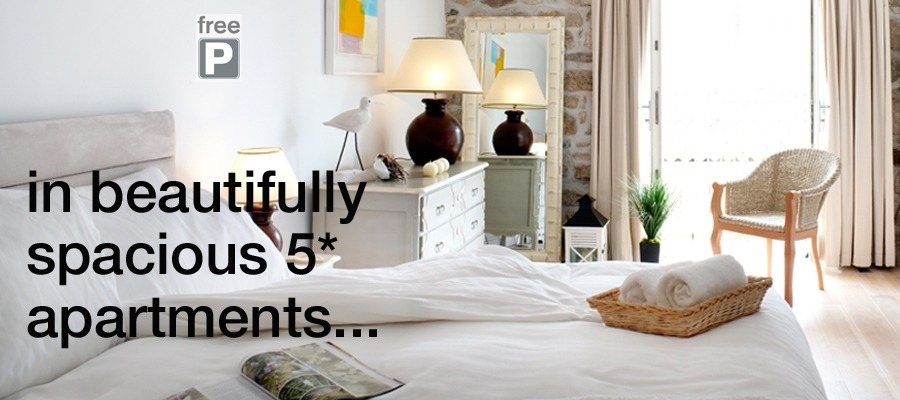 5* apartments in St Ives
