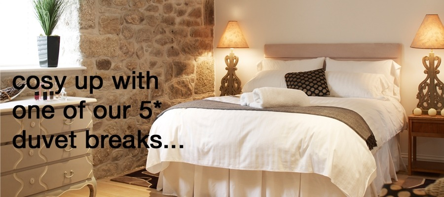 Cosy up with one of our 5* duvet breaks in St Ives...