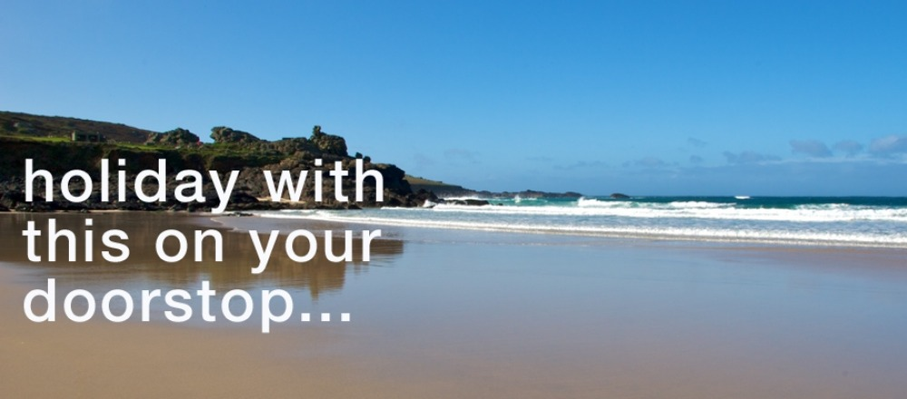 Holiday with Porthmeor Beach on your doorstep